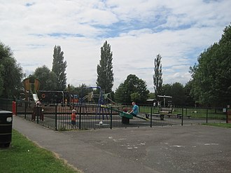 Mill Hill Park - Image: Mill Hill Park playground