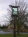 Milton Village Sign south-west side - geograph.org.uk - 654673.jpg