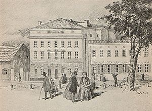 Mindre teatern - Mindre teatern in the 1850s