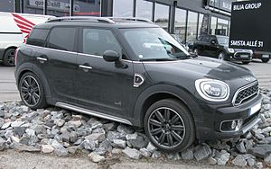 Mini Countryman - Image: Mini F60 2