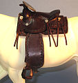 Miniature Hand Made 1 8th scale western saddle (6338759214).jpg