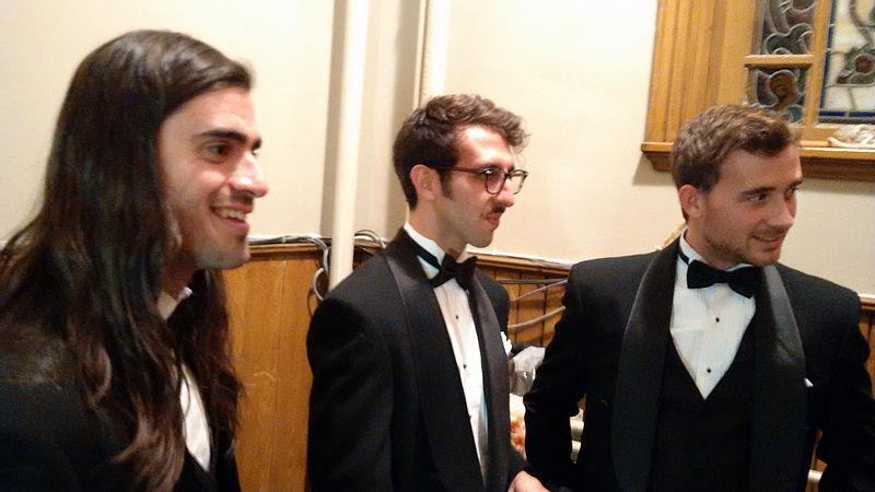 File:Misteur Valaire 2014 Orchestre Métropolitain, avant concert 2.jpg