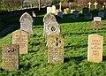Mitford graves at Swinbrook - geograph.org.uk - 346877.jpg