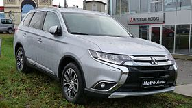 Mitsubishi Outlander in Tallinn, Estonia 20151114.jpg