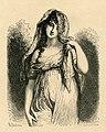 Mme Récamier - gravure de E.Moreau d'après Richard Cosway - 19ème.S.jpg