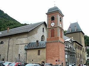 Roman Catholic Ancient Diocese of Tarentaise - Moûtiers Cathedral, see of the Diocese of Tarentaise.