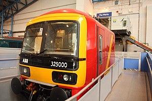 British Rail Class 325 - Mockup of Class 325 cab