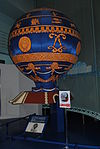 Model Montgolfier balloon (Le Bourget).jpg