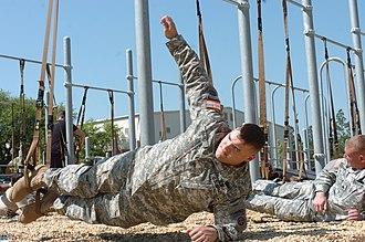 Plank (exercise) - Image: Modifiedsideplank