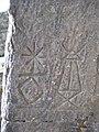 Moel Famau Jubilee Tower Hieroglyphs - geograph.org.uk - 323764.jpg