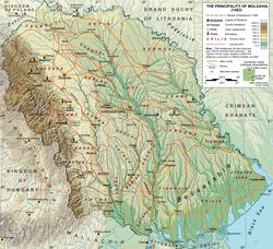 Moldavia bajo Esteban el Grande, 1483