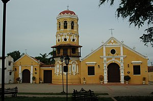 Santa Cruz de Mompox - Santa Barbara Church