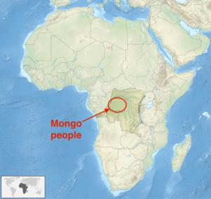 Mongo people - Image: Mongo people Congo Africa