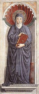 Saint Monica Woman saint; mother of St. Augustine