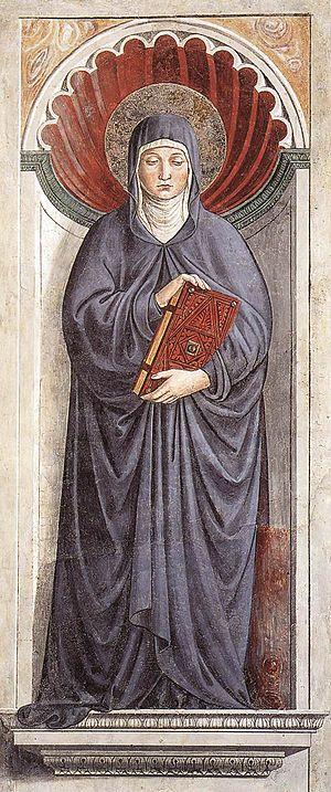 Saint Monica - Saint Monica by Benozzo Gozzoli, 1464–65