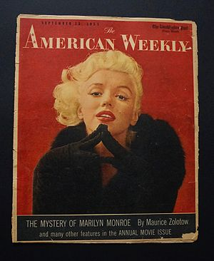 The American Weekly - Image: Monroe
