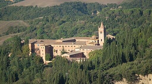 Abbazia di Monte Oliveto Maggiore, Chiusure