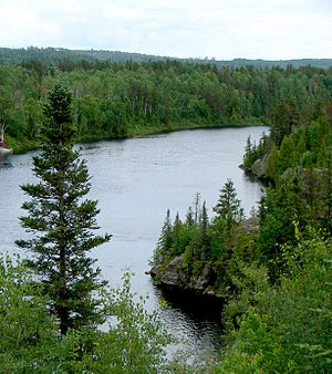 Montreal River (Timiskaming District) - Montreal River at Matachewan.