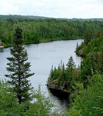 Montreal River (Timiskaming District) - Montreal River at Matachewan.