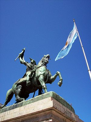 Monument of General Manuel Belgrano, by Albert...