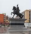 Monumento Skanderbeg, Pristina, Kosovo, 2014-04-16, DD 16.JPG
