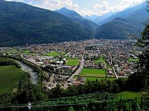 Morbegno - Image: Morbegno Panorama