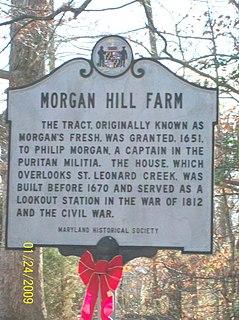 Morgan Hill Farm United States historic place