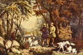 Morning in the Woods - Currier and Ives.png