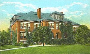 University of New Hampshire - Morrill Hall c. 1920