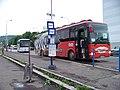 Most, Rudolická, autobus Kavka - Crossway 12,8M (02).jpg