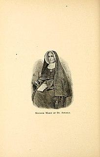 Mother Angela Gillespie American nurse and nun