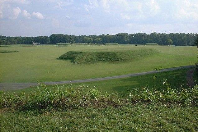 Moundville Archaeological Site Alabama