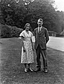 Mount Congreve, Waterford, Lady Alethea Buxton and Mr. Peter Eliot. (28101012750).jpg