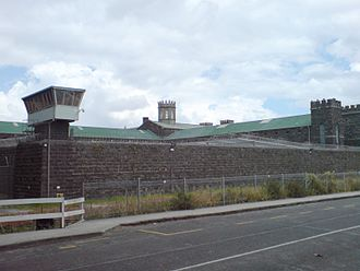 Mount Eden Prisons - Exterior view of the old prison.