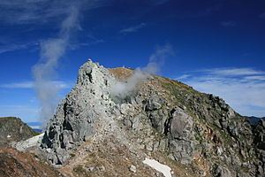 Mount Yake - Image: Mount Yake North peak 2011 07 06