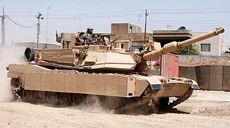 M1 Abrams - US Army M1A2 Abrams with production TUSK explosive reactive armor package installed