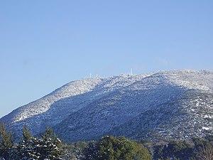 Mount Meron - Snowfall on Mount Meron