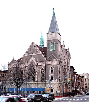 Hamilton Heights, Manhattan - Mt Calvary Methodist Church