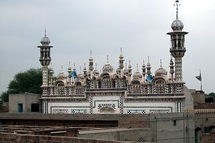 Muhammadi Masjid, a mosque with beautiful minarets.jpg