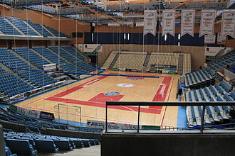 Obradoiro CAB - The Fontes do Sar, the home arena of Obradoiro since 2009