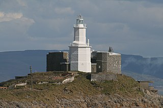 Mumbles Lighthouse lighthouse in Swansea, Wales