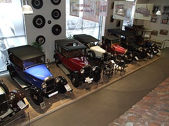 Museum Autovision - NSU-Oldtimer shown in Museum Autovision