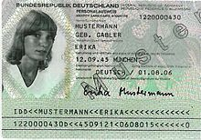 personalausweisnummer alter