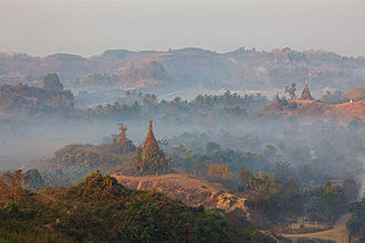 History of Myanmar - Temples at Mrauk U, was the capital of the Mrauk U Kingdom, which ruled over what is now Rakhine State.