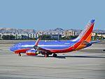 N763SW Southwest Airlines Boeing 737-7H4 (cn 27877-520) (7977253925).jpg
