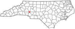 Location of Cornelius, North Carolina