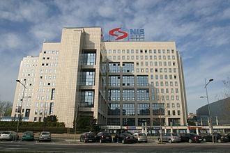 Naftna Industrija Srbije - NIS headquarters in Novi Sad
