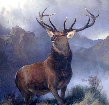 sir Edwin Landseer, The Monarch of the Glen (1...