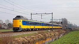 ICMm-IV treinstel 4237 nabij Woerden.