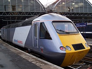 National Express East Coast - Image: NXEC HST King's Cross AB1